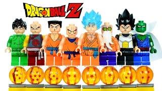 Dragon Ball Z: Resurrection 'F' LEGO KnockOff Minifigures Set 4 w/ Son Goku & Piccolo