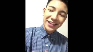Holiday Greetings from Darren Espanto (12-25-2017)