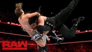 Roman Reigns vs The Miz : RAW - FOX SPORT - PT BR