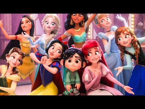 Xxx Mp4 WRECK IT RALPH 2 Baby Moana Frozen Disney Princesses BuzzTube Funny Scenes 2018 Best Moments 3gp Sex