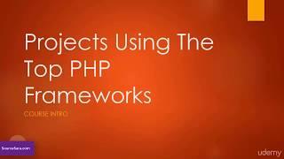 فیلم آموزش بهترین فریم ورک های PHP