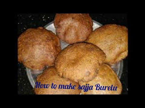 How to Make Sajja Boorelu (సజ్జ బూరెలు) / Sajja Appalu / Kobbari Burelu Recipe Preparation in Telugu