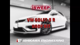 iSWEEP BODY KIT / VW GOLF7.5 R