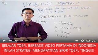 Belajar TOEFL Berbasis Video Pertama Di Indonesia oleh Mr  Maula Nikma