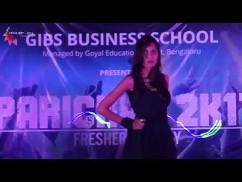 Fashion Show @ GIBS Fresher's Party -
