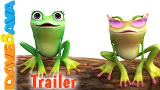 🐸 Five Little Speckled Frogs – Trailer | Dave and Ava Nursery Rhymes and Baby Songs 🐸