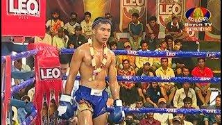 Voeun Savin vs Pormpuen(thai), Khmer Boxing Bayon 18 March 2018, Kun Khmer vs Muay Thai