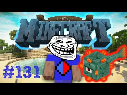 Minecraft SMP: HOW TO MINECRAFT #131 'EPIC GUARDIAN PRANK PART 2!' with Vikkstar