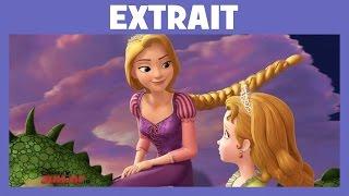 Princesse Sofia - Extrait : rencontre avec Raiponce | Disney Junior