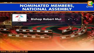 List of Nominated MPs And Senators Gazetted