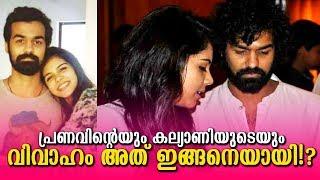പ്രണവുമായി വിവാഹം! കല്യാണി പ്രതികരിക്കുന്നു!|Kalyani about Marriage with Pranav Mohanlal!