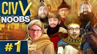 Civ V: War of the Worst #1 - Double Decking Cities
