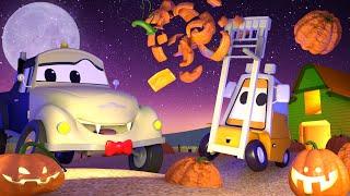 Mały Francis nadziewa się na Halołinowe Dynie (HALLOWEEN) 💧 Bajki samochodowe dla dzieci