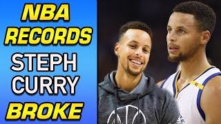 5 Insane STEPH CURRY Stats That PROVE He