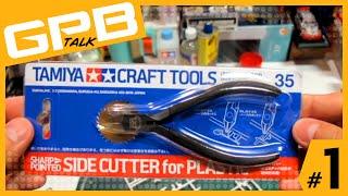 GPB TALK EP.1 ตอน รีวิว คีมเทพ TAMIYA Sharp Pointed Side Cutter No.35