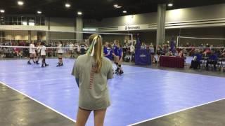 SRVA 2017 Match #5  -- Tsunami 13-1 Singo vs Madison Volleyball Club 4-23-17