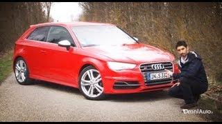 Nuova Audi S3 turbo 300 CV quattro - Prova su strada - Test Drive