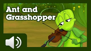 The Ant and the Grasshopper - Fairy tales and stories for children