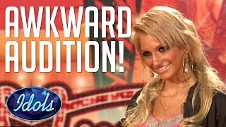 Audition With ATTITUDE! Simon Cowell Brings In The Mother On American Idol | Idols Global