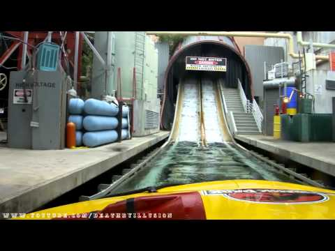 Jurassic Park The Ride River Adventures Front Seat HD POV Universal Studios Hollywood
