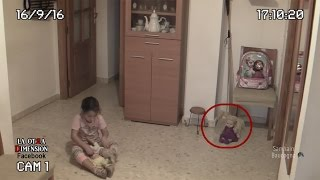 CCTV Captures Possessed Doll