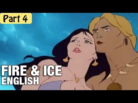 Fire & Ice - Cartoon Movie In English (1983) Part 4
