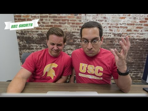Xxx Mp4 SEC Shorts USC Video Team Struggles With Post Game Hype Video 3gp Sex