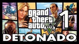 GTA 5 | Grand Theft Auto V - Walkthrough - Detonado (Legendado PT-BR ) PARTE 1