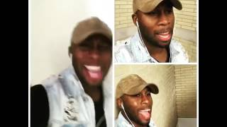Tyshan Singing Acapella (Testing Out New App called Acapella)