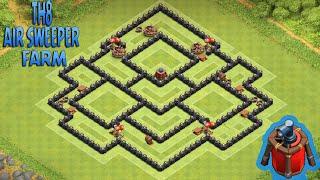 clash of clans o melhor dos melhores layout para cv th 8 farm 1