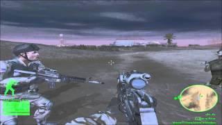 Delta Force Black Hawk Down: Team Sabre Iran Campaign Mission 1