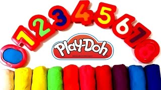 Learn To Count with PLAY-DOH Numbers 1 to 10