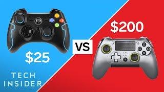 $200 VS $25 Game Controller