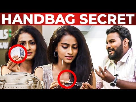 Xxx Mp4 Flexible Glass Inside SARKAR Actress Abitha S Handbag Segment What S Inside The HANDBAG 3gp Sex