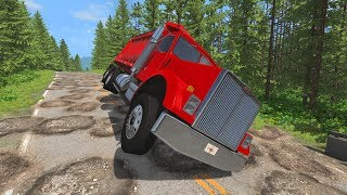 Crazy Road! #2 - BeamNG Drive Crashes,Fail Compilation