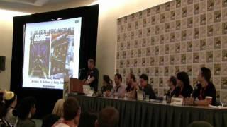 San Diego Comic-Con 2011 - IDW panel part 1