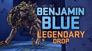 Borderlands The Pre Sequel | Farming Benjamin Blue Legendary Drop