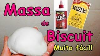 COMO FAZER MASSA DE BISCUIT/MASSINHA PARA BONECA BARBIE E MONSTER HIGH