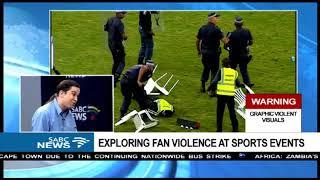 Jeremy Bayer analyses sports fan violence after Kazier chiefs riots