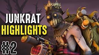 Overwatch | MisterHeartz Junkrat Highlights #2