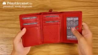 Pénztárcanet.hu - La Scala női pénztárca piros DN-82221
