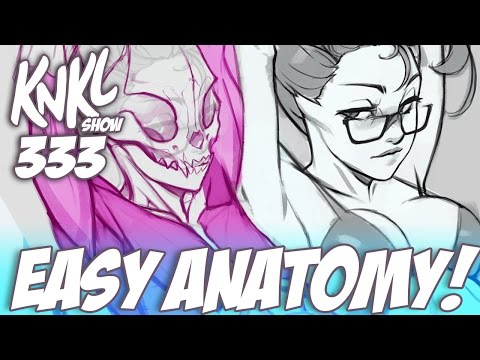 KNKL 333: Easy ANATOMY! (Featuring fox girls and armpits!)