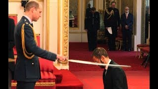 Arise Sir Ringo! Beatle knighted at Buckingham Palace | ITV News