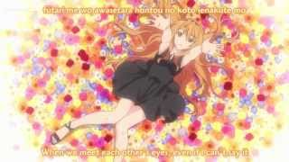 Golden time Op 2 with lyrics HD (Yui Horie -  The worlds end)