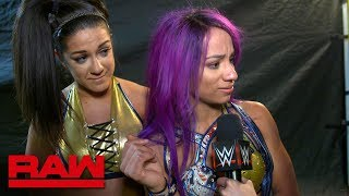 Sasha Banks vows to reclaim the Raw Women's Championship: Raw Exclusive, Jan. 21, 2019