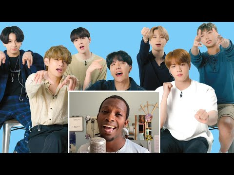 BTS Watches Fan Covers On YouTube Glamour