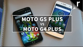 Moto G5 Plus vs Moto G4 Plus: 4 + 1 = win?
