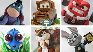 TOP 10 DISNEY CAKE TOPPERS: CAN YOU NAME THEM ALL?
