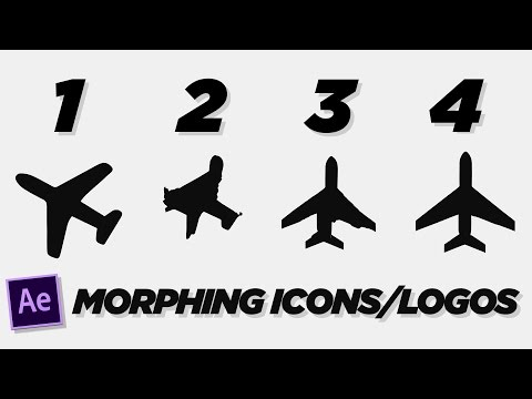 Morphing Logos and Icons - After Effects Tutorial