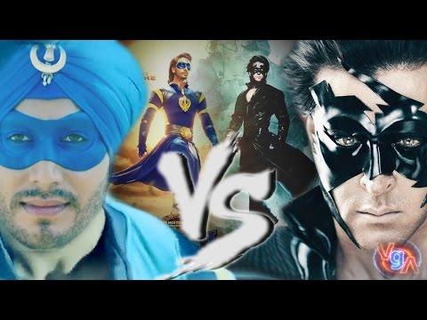 Krrish 4 Vs Flying Jatt  fight Trailer (RRT)- Latest Movies Trailer